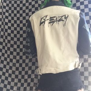 G-Eazy Custom Handpainted Jacket